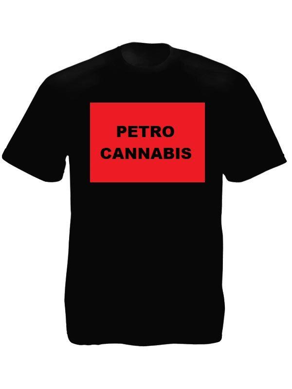 Tee-shirt Cannabis Canada Noir