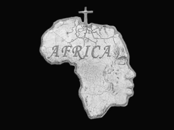 T-Shirt Noir Homme en Coton Africa pour Rasta