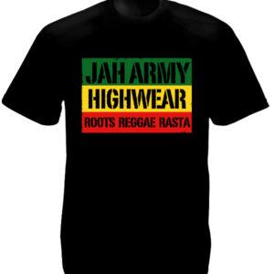 Tshirt Noir Jah Army Highwear