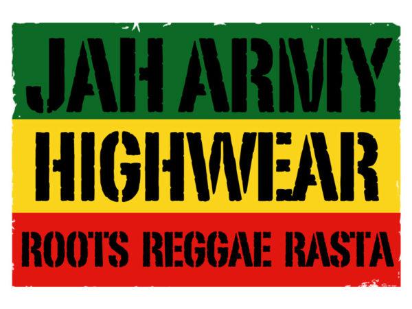 Tshirt Blanc Jah Army Highwear
