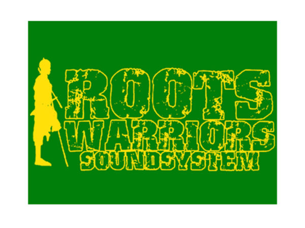 Reggae Tshirt Blanc Homme Roots Warriors Sound System