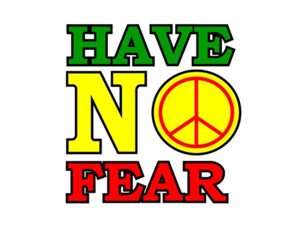 T-Shirt Blanc Reggae Have No Fear Dennis Brown à Manches Courtes