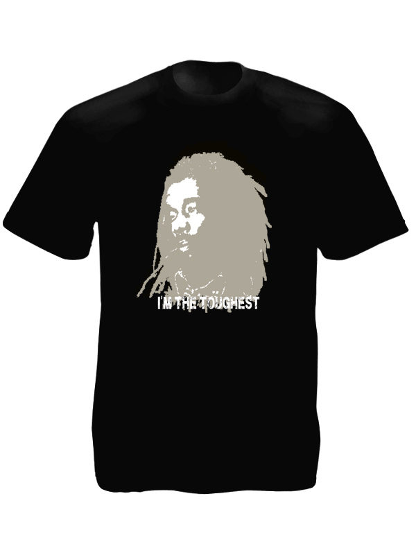 T-Shirt Noir Peter Tosh I'm The Toughest