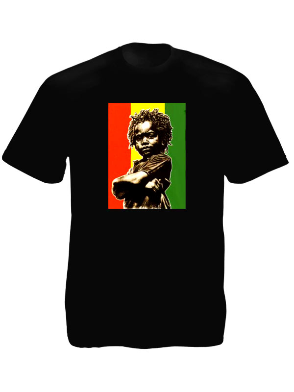 tshirt noir rasta baby drapeau ethiopien vert jaune rouge tshirt blanc. Black Bedroom Furniture Sets. Home Design Ideas